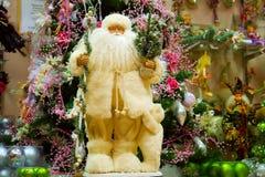 Russische Kerstman Stock Afbeeldingen