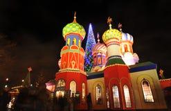 Russische Kerstmis Royalty-vrije Stock Afbeeldingen