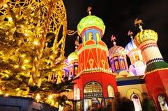 Russische Kerstmis Stock Afbeeldingen