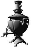 Russische ketelsamovar Royalty-vrije Stock Afbeelding