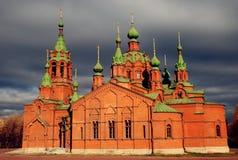 Russische Kirche lizenzfreie stockfotos