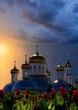 Russische Kirche lizenzfreie stockfotografie