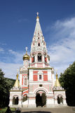Russische Kirche in Shipka Stockbilder
