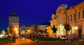 Russische kleine stad murom royalty-vrije stock fotografie
