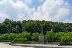 Russische kommunistische Führer Lenin-Statue Stockfoto