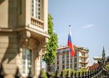 Russische Konsulatbotschaft Lizenzfreies Stockbild
