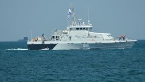 Russische kustwachtboot stock videobeelden
