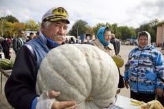 Russische landbouwer Stock Foto