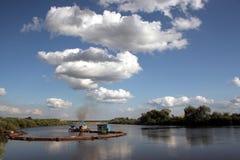 Russische Landschaft lizenzfreie stockbilder
