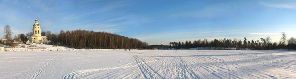 Russische Landseite Lizenzfreies Stockbild