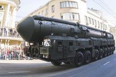Russische legerparade Stock Fotografie