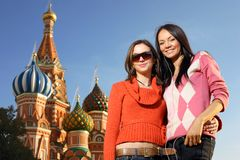 Russische Mädchen lizenzfreie stockfotografie