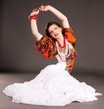 Russische Mädchenart und weise Stockfotos