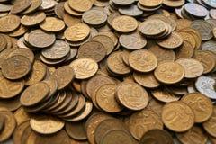 Russische Münze Stockfoto
