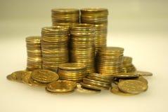 Russische Münzen Stockfotos