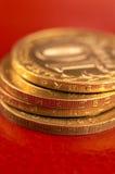 Russische Münzen Lizenzfreies Stockbild