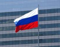 Russische Markierungsfahne Lizenzfreies Stockbild