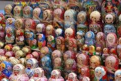 Russische Matreshka Stock Afbeeldingen