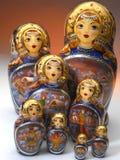 Russische Matrushka Puppen Stockbilder