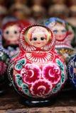 Russische matryoshka Stock Foto's