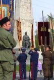 Russische militaire tradities stock afbeelding