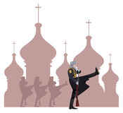 Russische Militairen Royalty-vrije Stock Foto