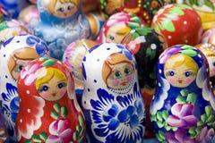 Russische mtryoshka Stock Foto