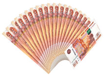 Russische munt Royalty-vrije Stock Afbeeldingen