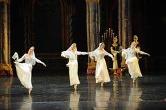 Russische nationaal de kostuud-prins van bar het mitzvah-derde handeling-ballet Zwaanmeer royalty-vrije stock fotografie