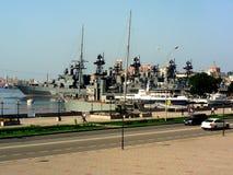 Russische navyPacific Vloot stock foto