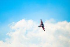 Russische nieuwste straalvechter su-30 Royalty-vrije Stock Fotografie