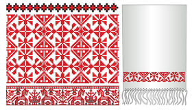 Russische Oekraïense oude paterrn borduurt vector illustratie