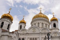 Russische orthodoxe Kathedrale Lizenzfreie Stockfotos