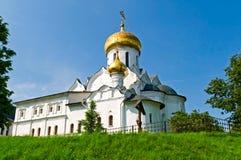 Russische orthodoxe kerk Stock Fotografie