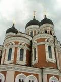 Russische orthodoxe kerk stock foto