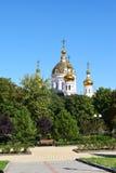 Russische Orthodoxe kerk Stock Afbeeldingen