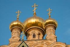 Russische Orthodoxe Kerk van Mary Magdalene, Jeruzalem Stock Afbeelding