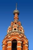 Russische orthodoxe klokketoren Royalty-vrije Stock Afbeeldingen