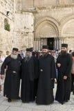 Russische Orthodoxe monniken Stock Afbeelding
