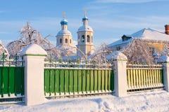 Russische Ortodox Kirche. Lizenzfreies Stockbild