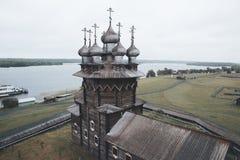 Russische oude kerk Stock Afbeelding
