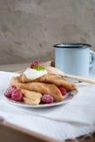 Russische Pfannkuchen Lizenzfreies Stockbild