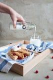 Russische Pfannkuchen Stockfotos