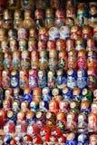 Russische poppen Royalty-vrije Stock Afbeeldingen