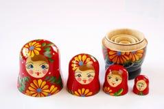 Russische poppen Royalty-vrije Stock Afbeelding