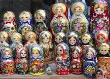 Russische poppen Royalty-vrije Stock Fotografie
