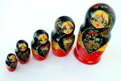 Russische poppen Stock Foto