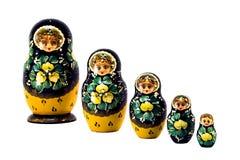 Russische poppen stock afbeeldingen