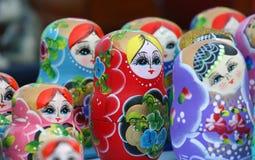 Russische poppen Stock Afbeelding