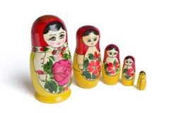Russische poppen - Stock Foto's